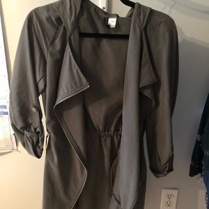 H&M light weight trench coat